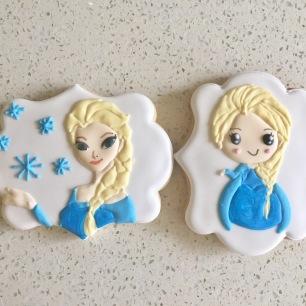 Elsa cookies. $5 each.