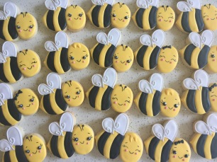 Kawaii bees. $3.50 each.