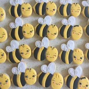 Bee cookies. $3.50 each.