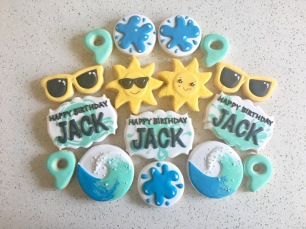 Splash/Pool Party Birthday Set. $40/dozen.