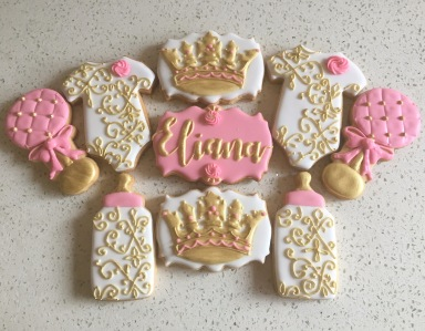 Princess baby shower set. $50/dozen.