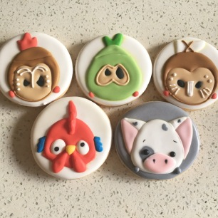 Moana themed Tsum Tsum cookies. $4 each.