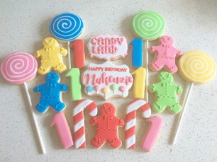Candy Land themed birthday. $42/dozen.