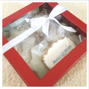 Christmas gift boxes for Make-A-Wish Hawaii.