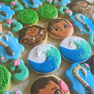 Moana cookies. $45/dozen.