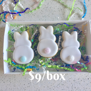 Box E: Bunny Butt Box Set. Beautifully packaged and tied with a bow.