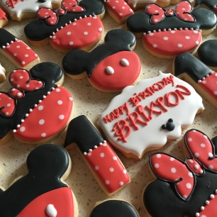 Minnie & Mickey Cookies