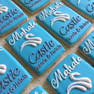 Logo cookies for Castle Resorts & Hotels