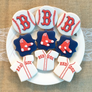 Boston Redsox Cookies