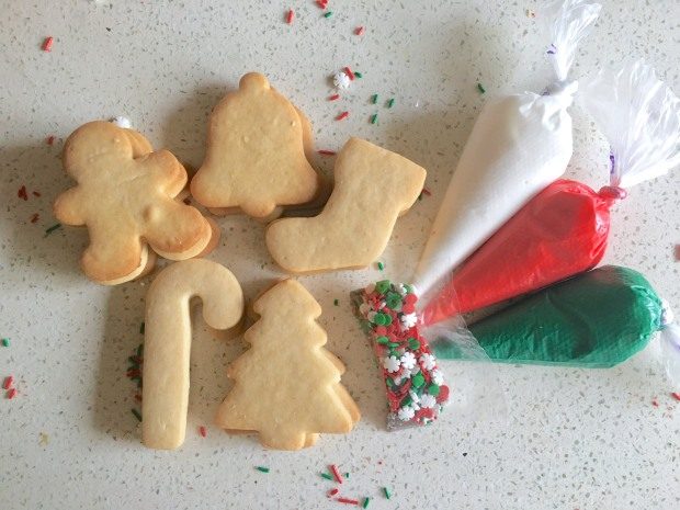 Assorted Christmas Cookie Kit