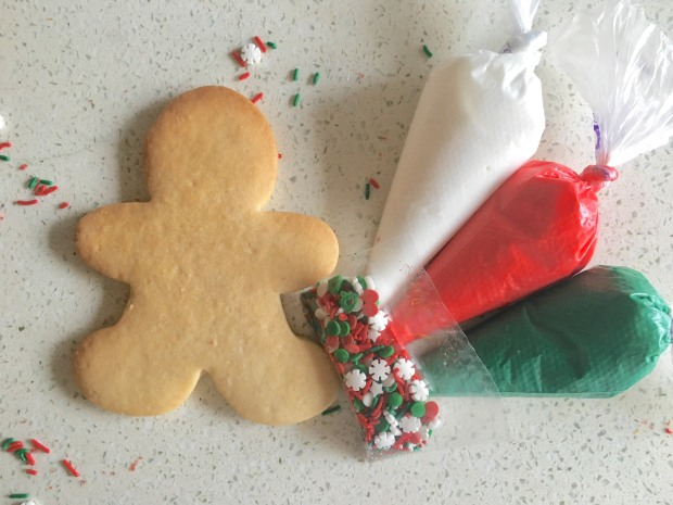Decorate Your Own Large Gingerbread Man
